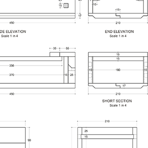 Japanese tool box plan