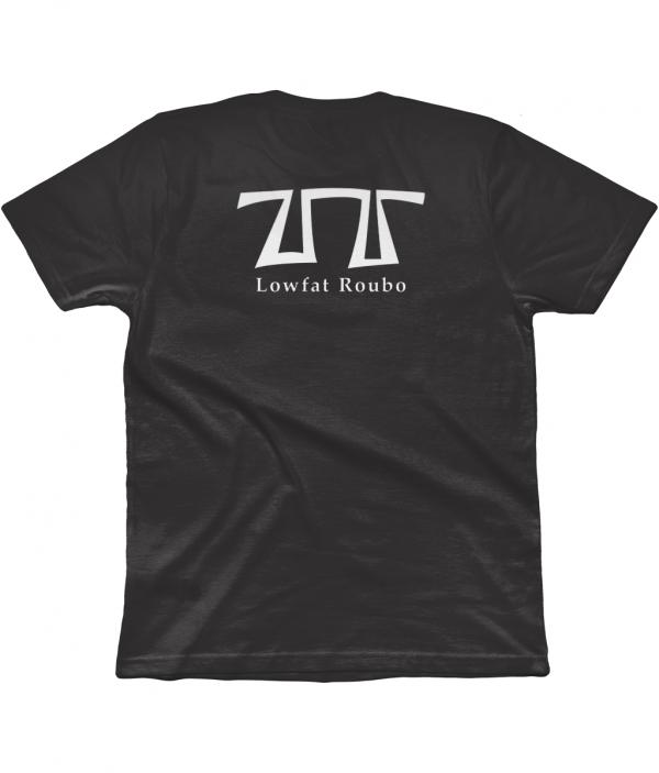 Dark Grey T-shirt back