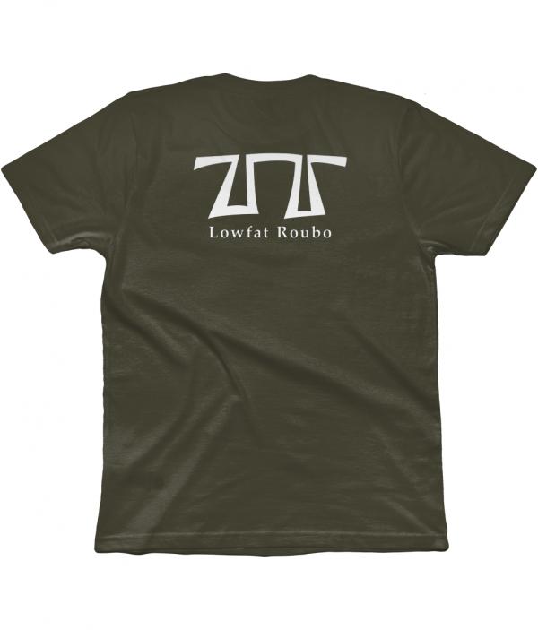 Moss Green T-shirt back