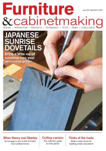 Furniture & Cabinetmaking Cover 270