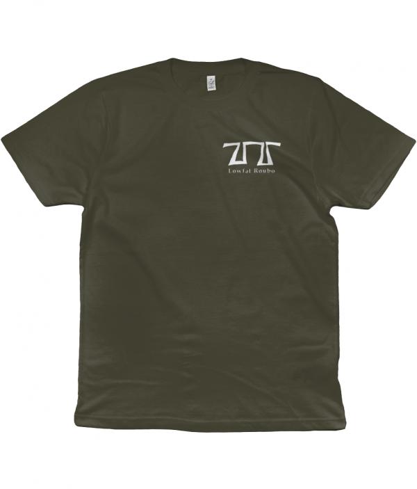 Moss Green T-shirt front